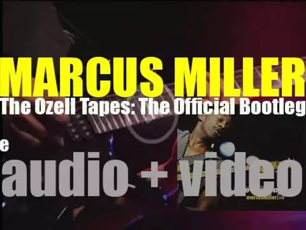 Telarc publish Marcus Miller's 'The Ozell Tapes: The Official Bootleg' (2003)