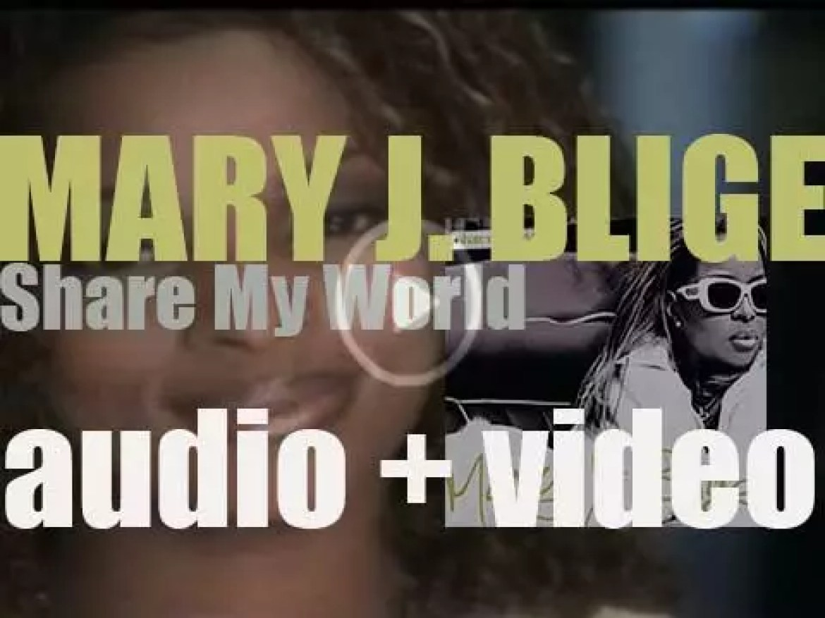 Mary J. Blige releases her third album 'Share My World' featuring 'Love Is All We Need' (1997)