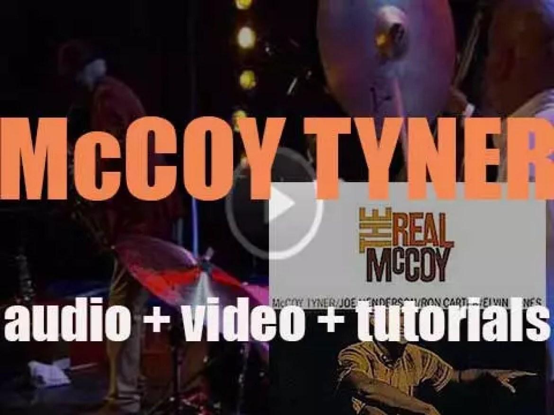 McCoy Tyner records 'The Real McCoy' with  Joe Henderson, Ron Carter & Elvin Jones (1967)