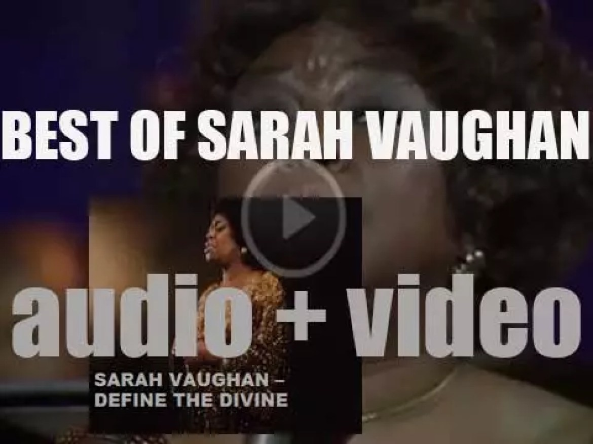 We remember Sarah Vaughan. 'Define The Divine'