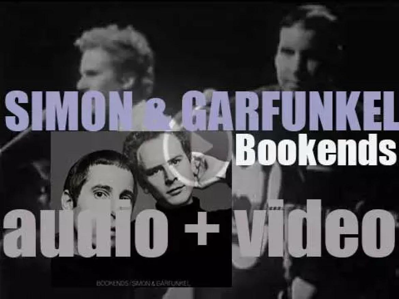 Simon & Garfunkel release their fourth album : 'Bookends' featuring 'Mrs. Robinson' (1968)
