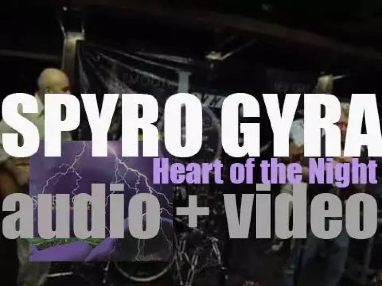 GRP publish Spyro Gyra's nineteenth album : 'Heart of the Night' (1996)