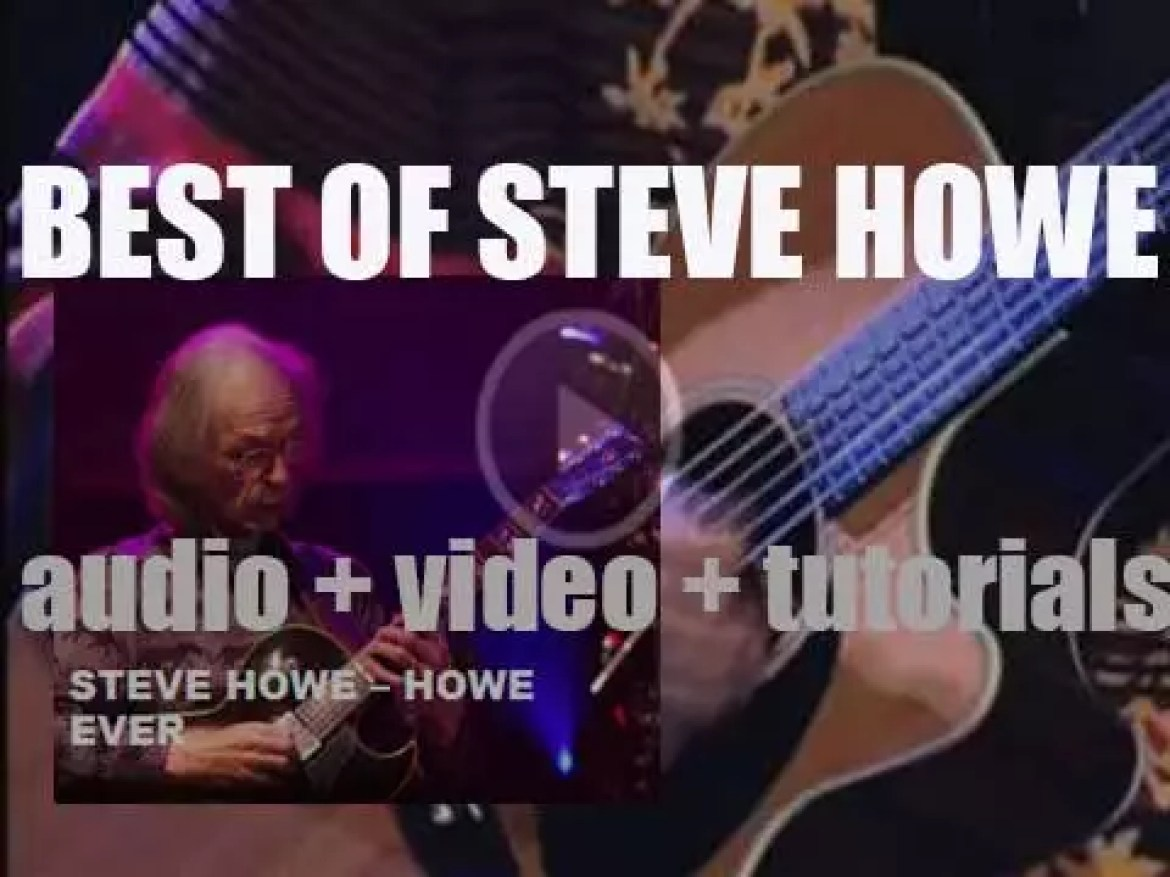 Happy Birthday Steve Howe. 'Howe Ever'