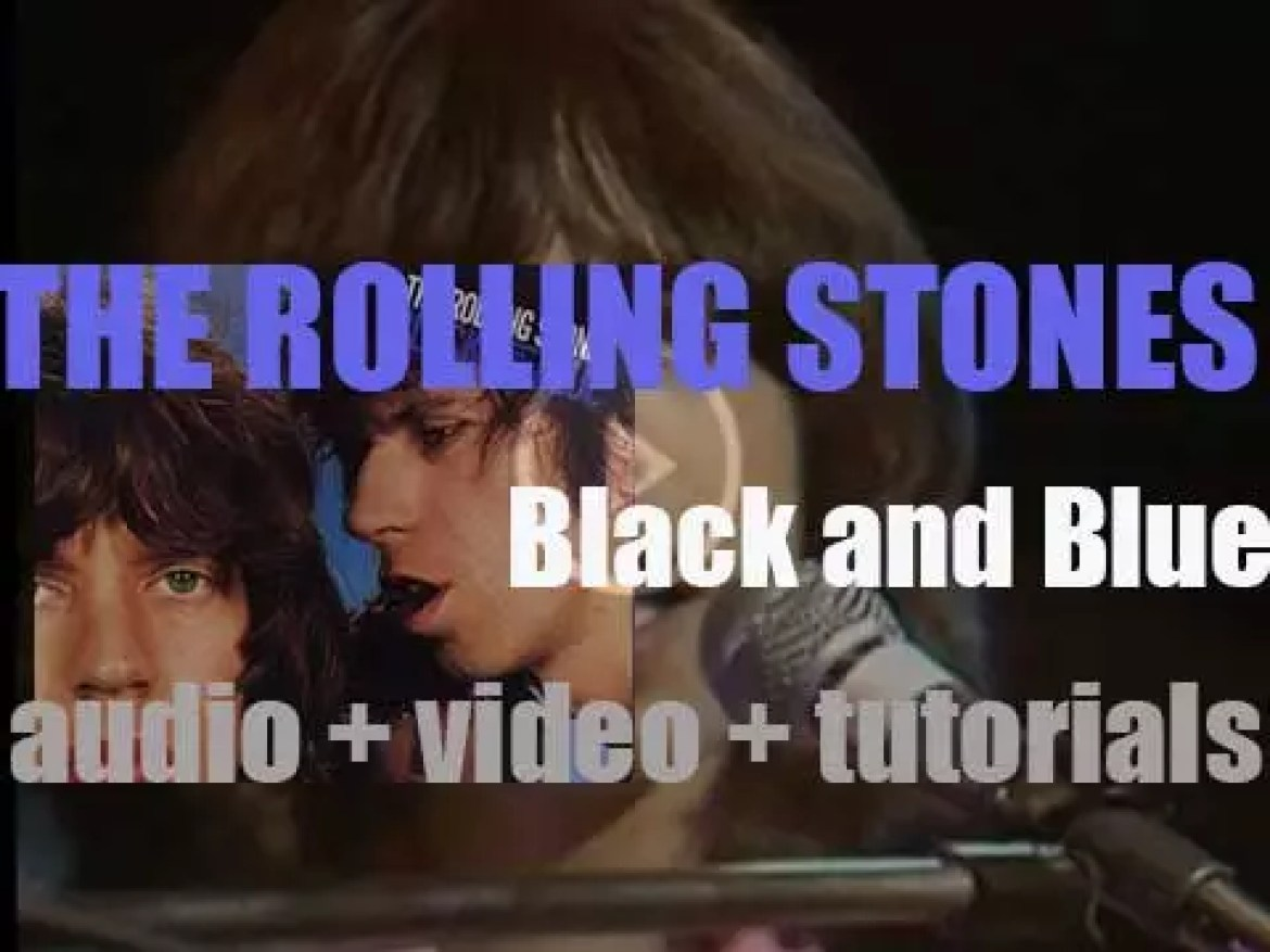 The Rolling Stones release their thirteenth album : 'Black and Blue' featuring 'Hot Stuff' (1976)