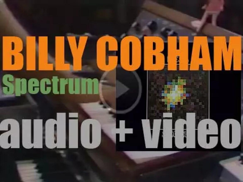 Billy Cobham records debut album : 'Spectrum' for Atlantic (1973)