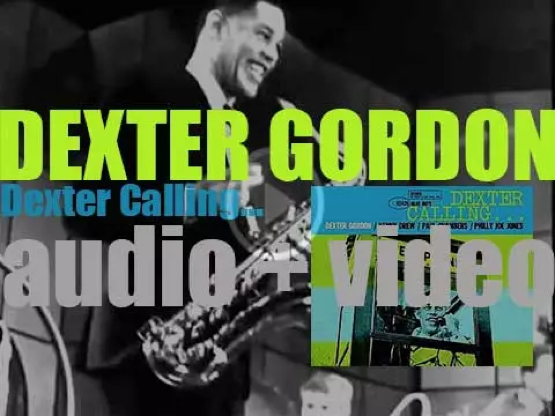 Dexter Gordon records 'Dexter Calling…' with Kenny Drew, Paul Chambers and Philly Joe Jones (1961)