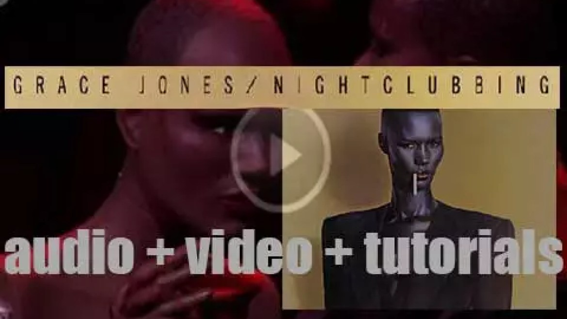 Grace Jones releases 'Nightclubbing,' her fifth album featuring 'Pull Up to the Bumper' (1981)