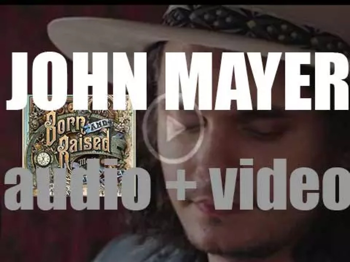 John Mayer releases 'Born and Raised,' his fifth album produced with Don Was (2012)