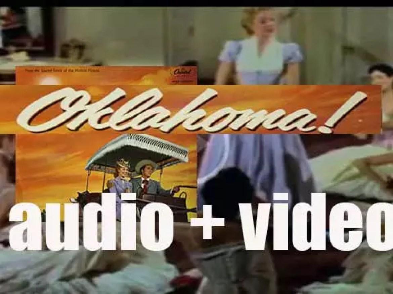 The original soundtrack album of 'Oklahoma!' is recorded (1985)