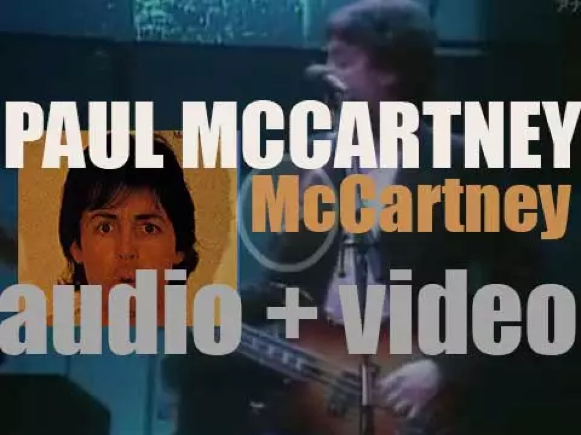 Parlophone release Paul McCartney's second solo album : 'McCartney II' featuring 'Coming Up' (1980)
