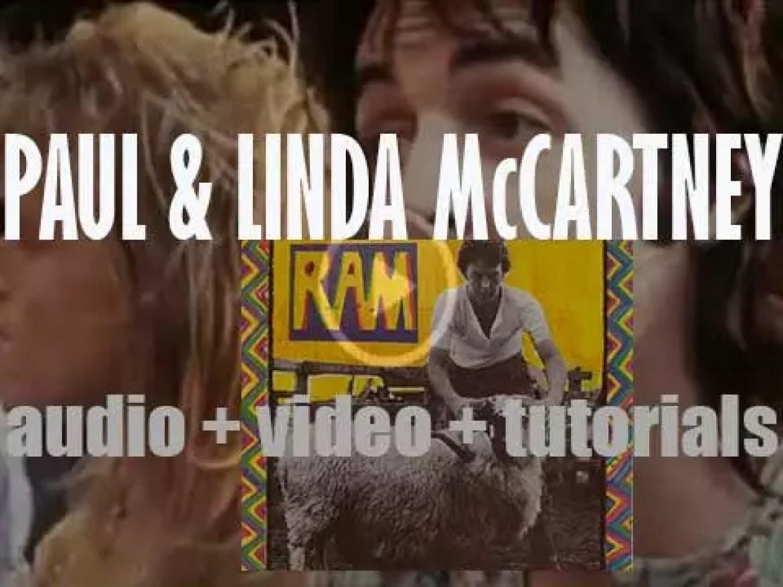 Apple Records release Paul McCartney's 'Ram'  featuring 'Uncle Albert/Admiral Halsey' (1971)