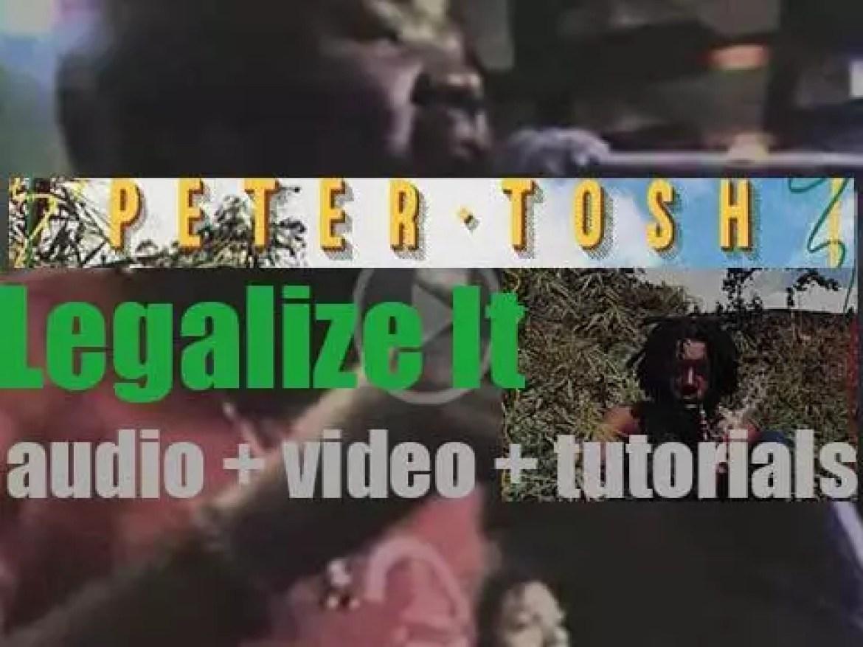 Virgin publish Peter Tosh's debut album : 'Legalize It' (1976)