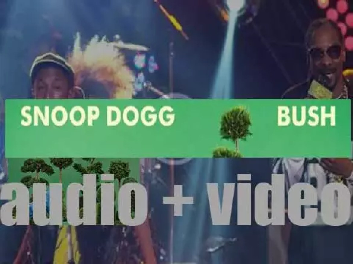 Snoop Dogg releases 'Bush,' his thirteenth album produced by Pharrell Williams