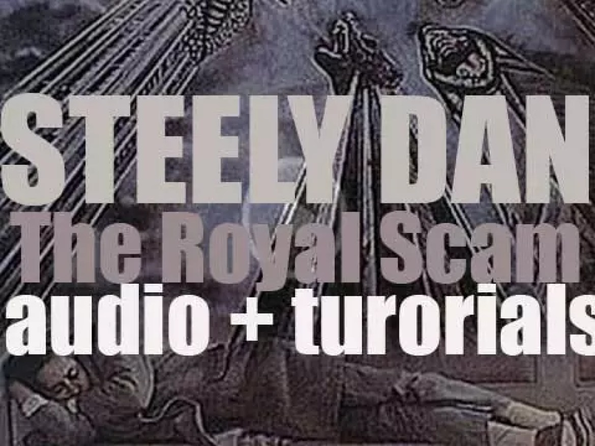 Steely Dan release their fifth album : 'The Royal Scam' featuring 'Kid Charlemagne' (1976)