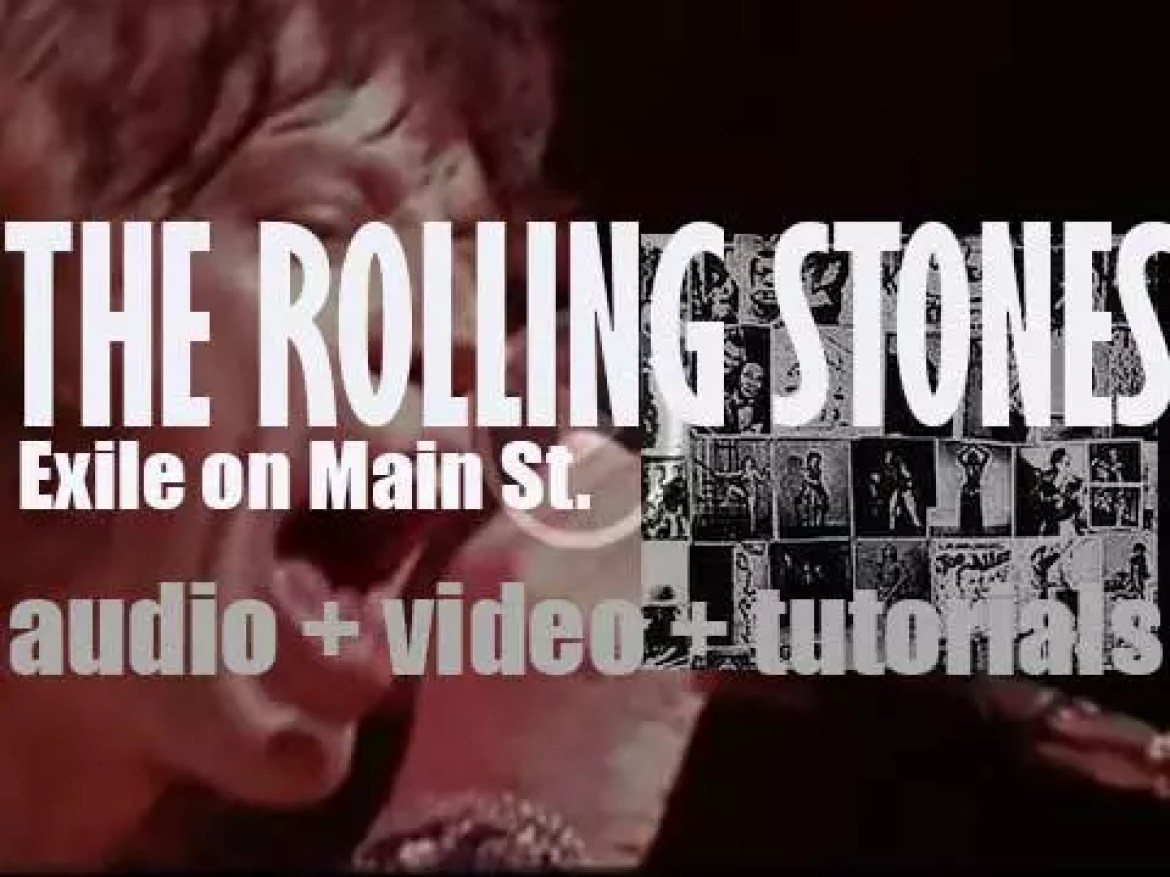 The Rolling Stones release their tenth album : 'Exile on Main St.'  featuring 'Tumbling Dice' (1972)