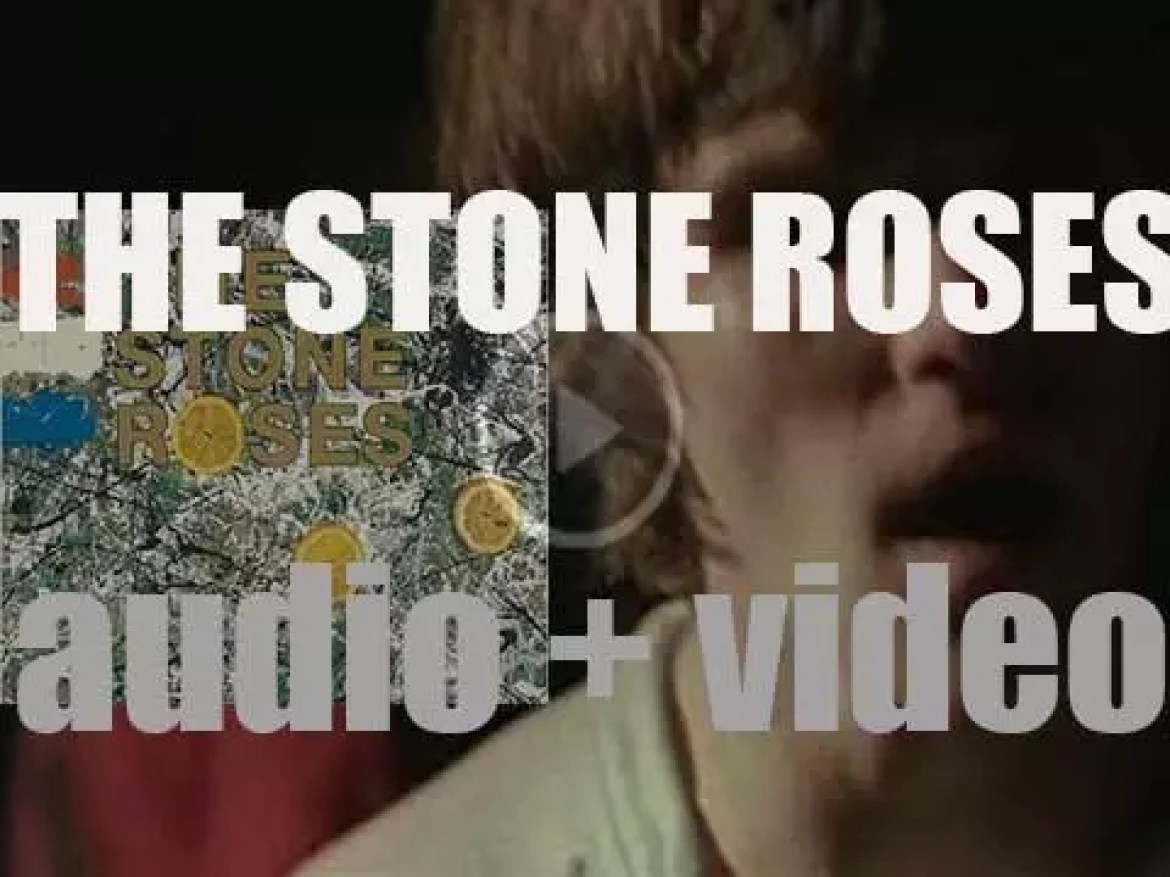 Silvertone Records publish 'The Stone Roses,'  their debut album featuring 'I Wanna Be Adored' (1989)