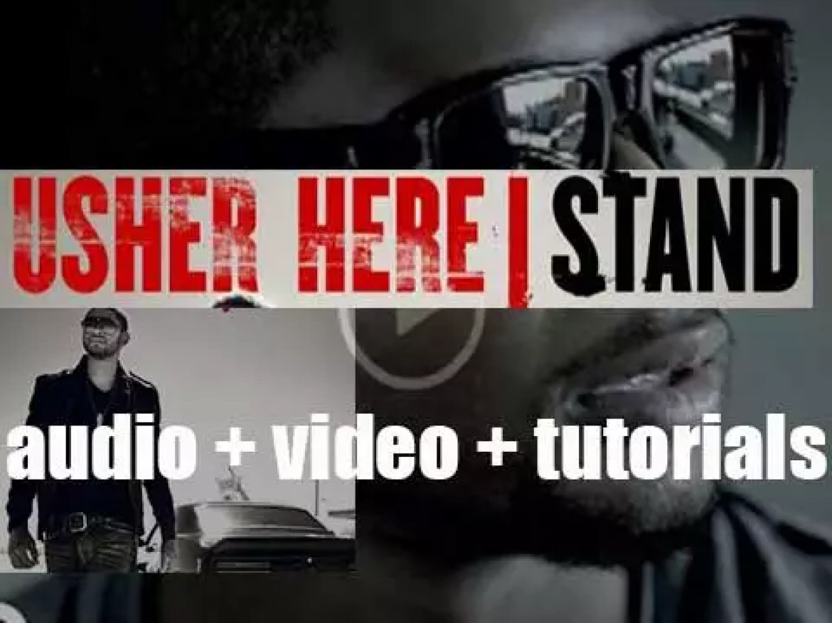 Usher releases 'Here I Stand,' his fifth album including 'Love in This Club' (2008)
