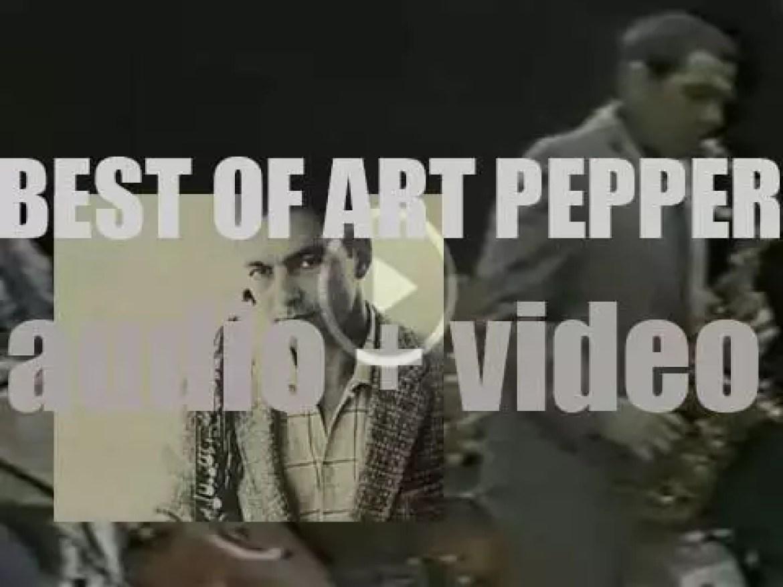 We remember Art Pepper. 'The Art(ist)'