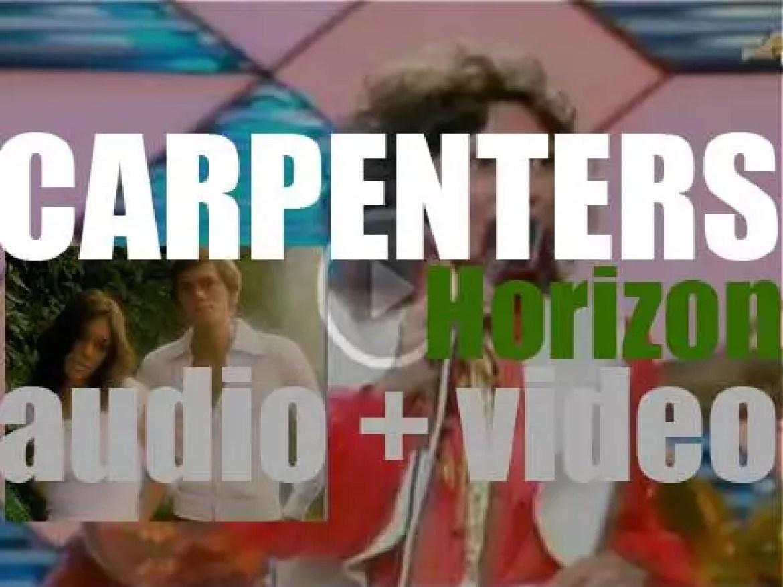 A&M publish Carpenters' sixth album : 'Horizon' featuring 'Solitaire' (1975)