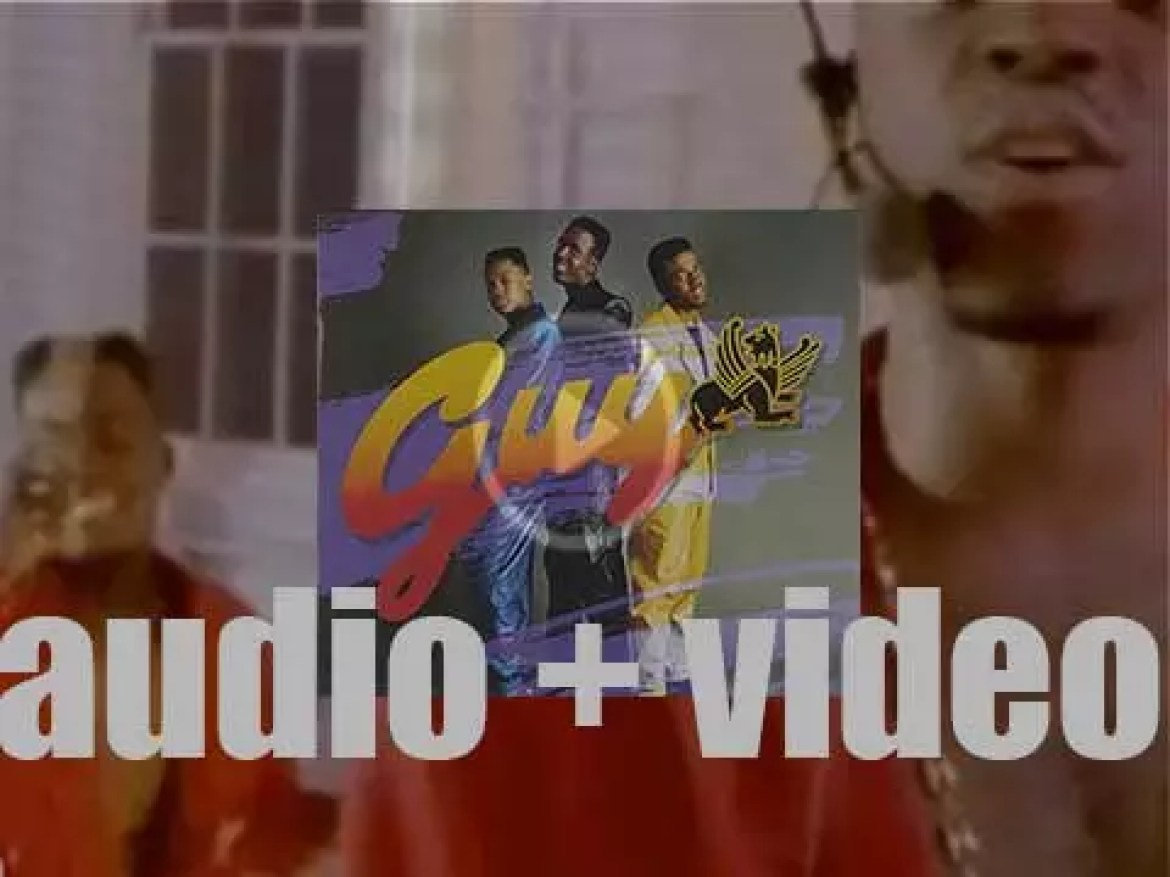 Uptown Records release 'Guy,' their  eponymous debut album produced by Teddy Riley & Gene Griffin (1988)