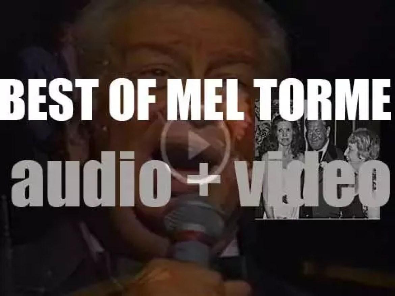 We remember Mel Tormé. 'The Velvet Prince'