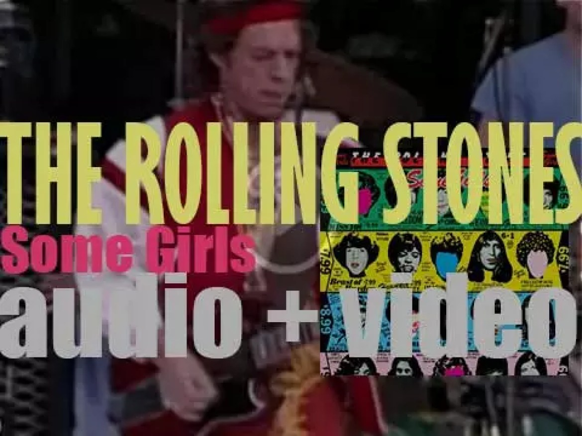 The Rolling Stones release 'Some Girls,' their fourteenth album featuring 'Miss You' and 'Beast of Burden' (1978)