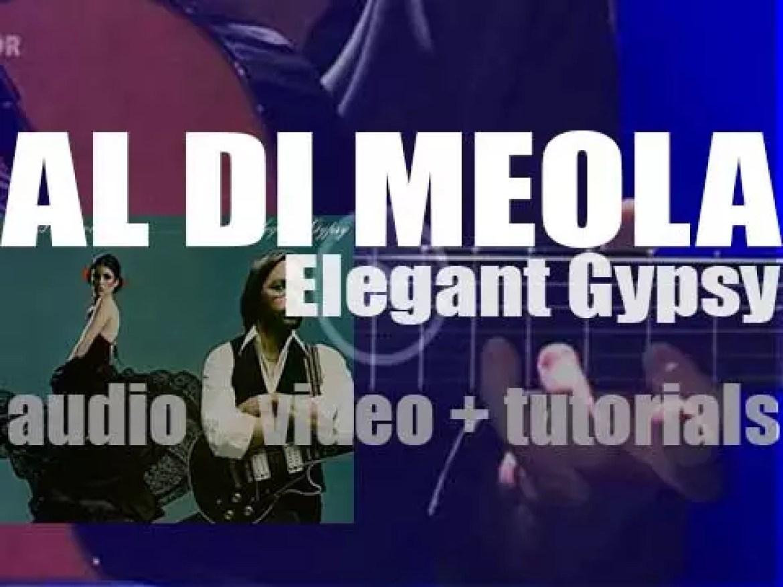 Al Di Meola records 'Elegant Gypsy,' his second album for Columbia (1977)