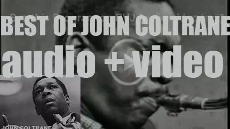 We remember John Coltrane. 'Trane Leaving'