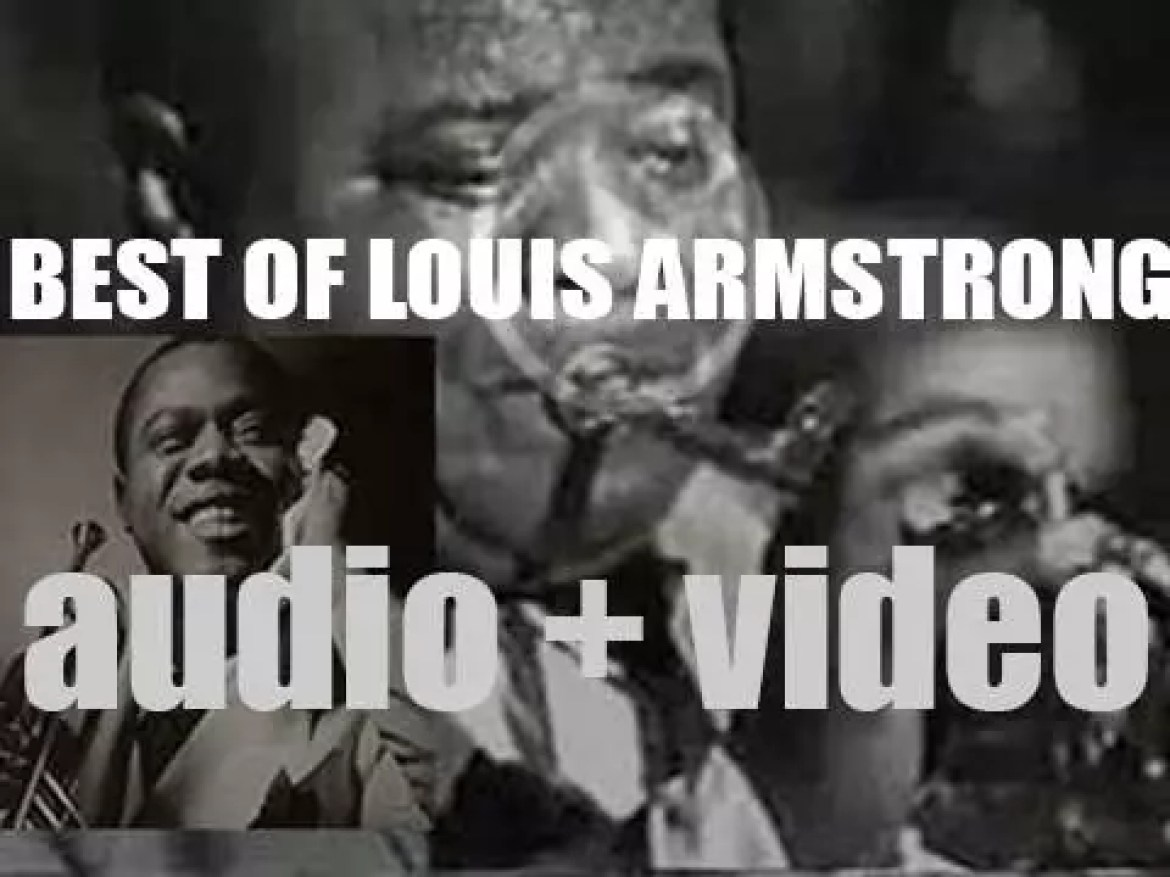We remember Louis Armstrong. 'Hooray for King Louis'