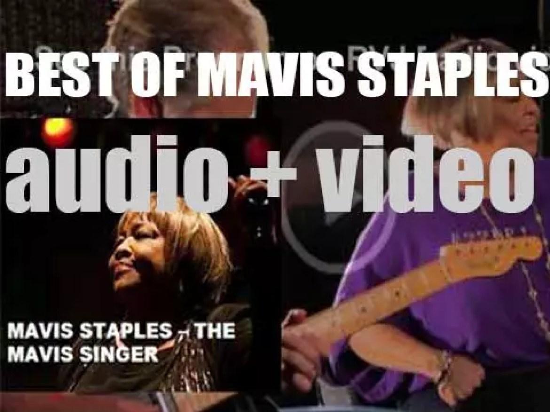 Happy birthday Mavis Staples. 'The Mavis Singer'