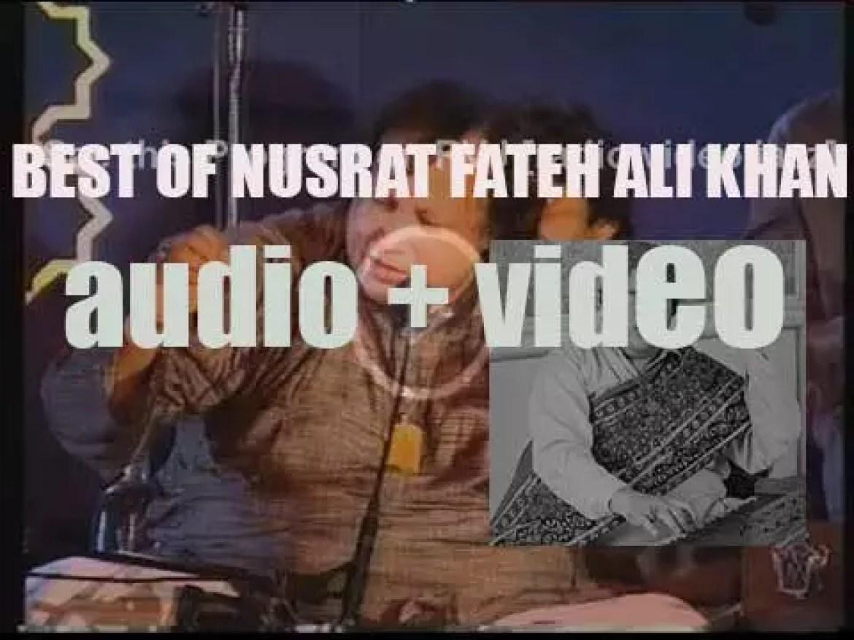 We remember Nusrat Fateh Ali Khan. 'Shahenshah-e-Qawwali'