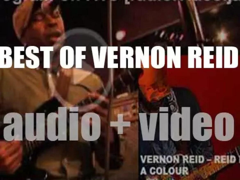 Happy Birthday Vernon Reid. 'Reid Is A Colour'