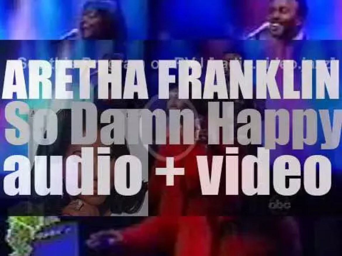 Arista publish Aretha Franklin's 'So Damn Happy,' her first album in five years (2003)