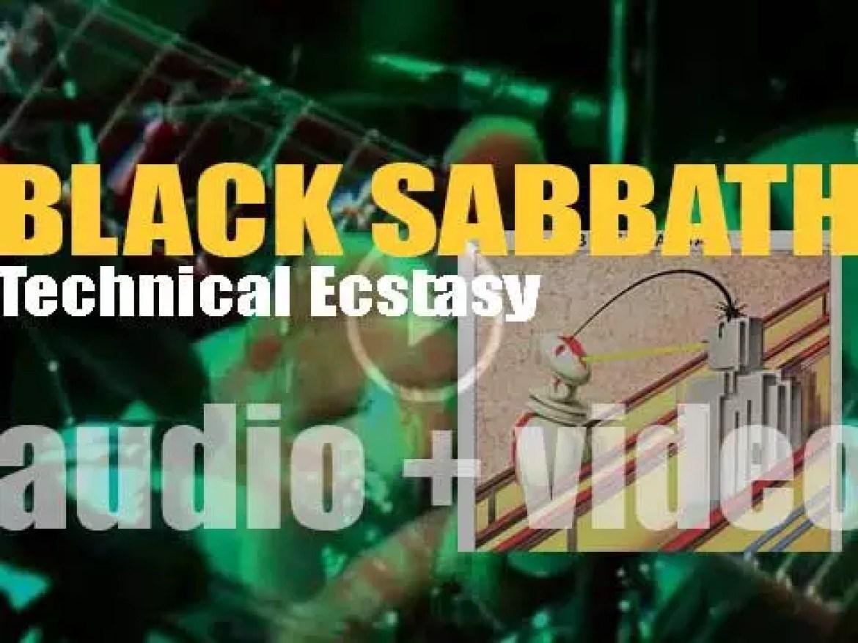 Vertigo release Black Sabbath's 'Technical Ecstasy,' their seventh album produced by Tony Iommi (1976)
