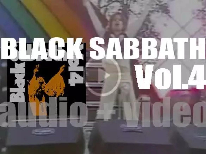 Vertigo release Black Sabbath's 'Vol. 4,' their fourth album produced by Tony Iommi (1972)