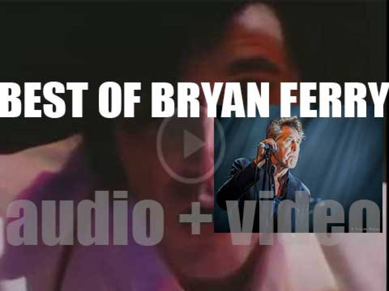 Happy Birthday Bryan Ferry. 'The Life of Bryan'