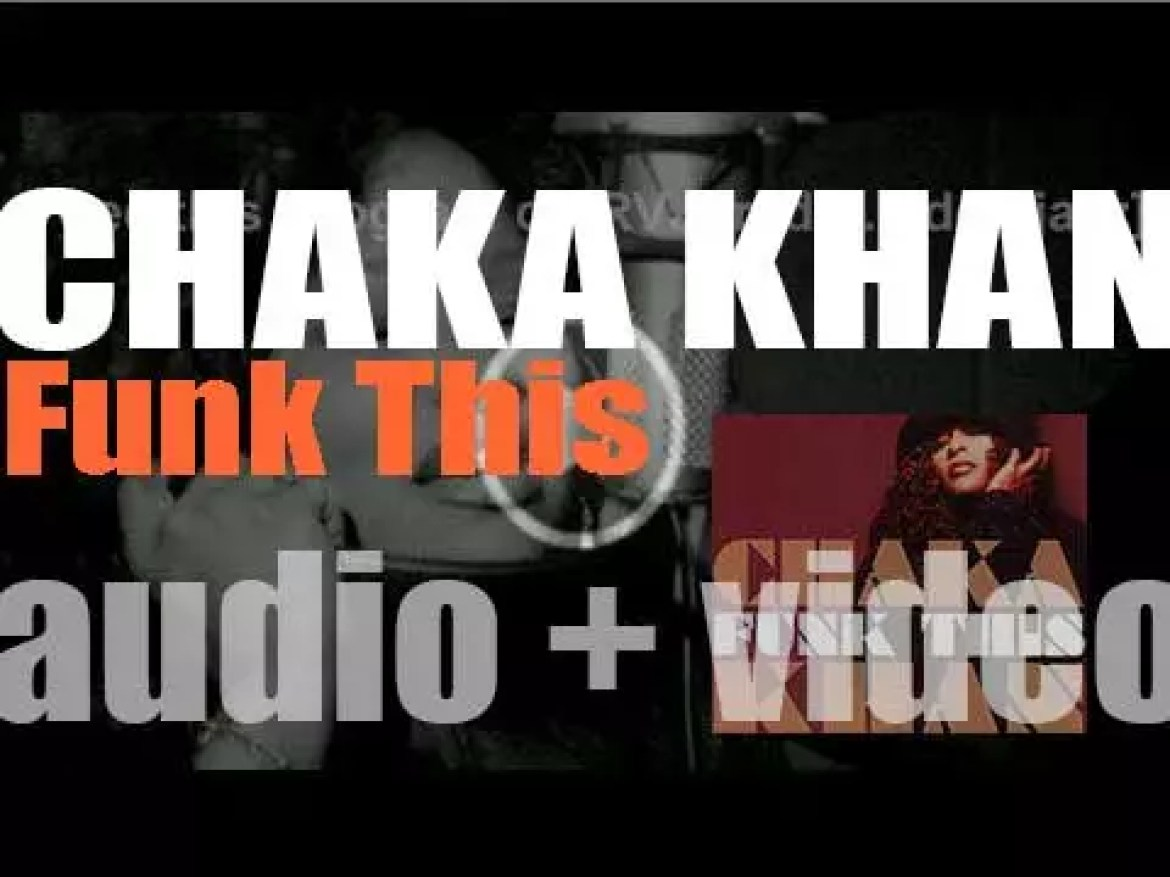 Chaka Khan releases 'Funk This,' her eleventh album (2007)