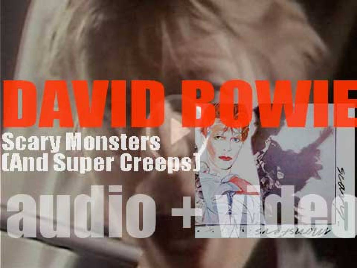 David Bowie releases 'Scary Monsters,' his fourteenth album' featuring 'Ashes to Ashes' and 'Fashion' (1980)