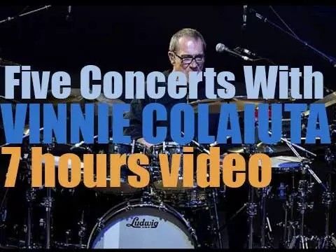 Five Concerts with Vinnie Colaiuta