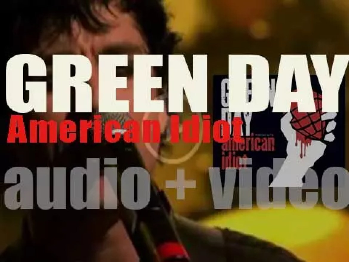 Green Day release their seventh album : 'American Idiot' featuring 'Boulevard of Broken Dreams' 'Holiday' and 'Wake Me Up When September Ends' (2004)