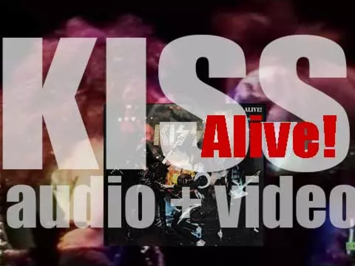 Casablanca release Kiss 'Alive!' their first live double album (1975)