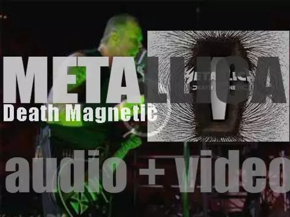 Metallica release their ninth album : 'Death Magnetic' featuring 'The Day That Never Comes' (2008)