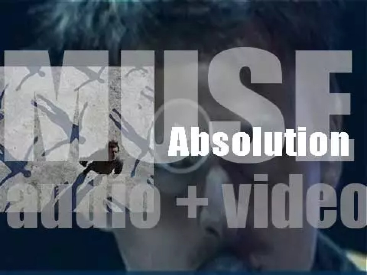 Muse release their third album 'Absolution' featuring 'Time Is Running Out' (2003)