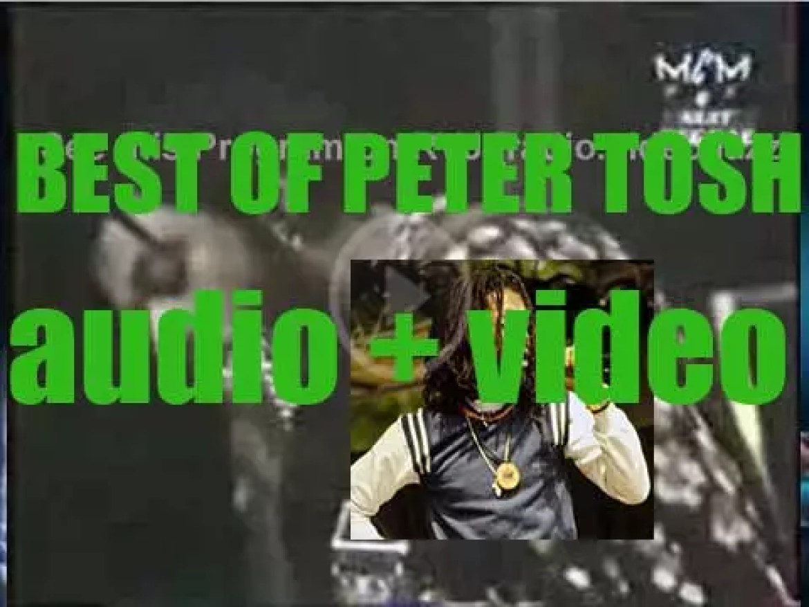 We remember Peter Tosh. 'Legalize Pete'