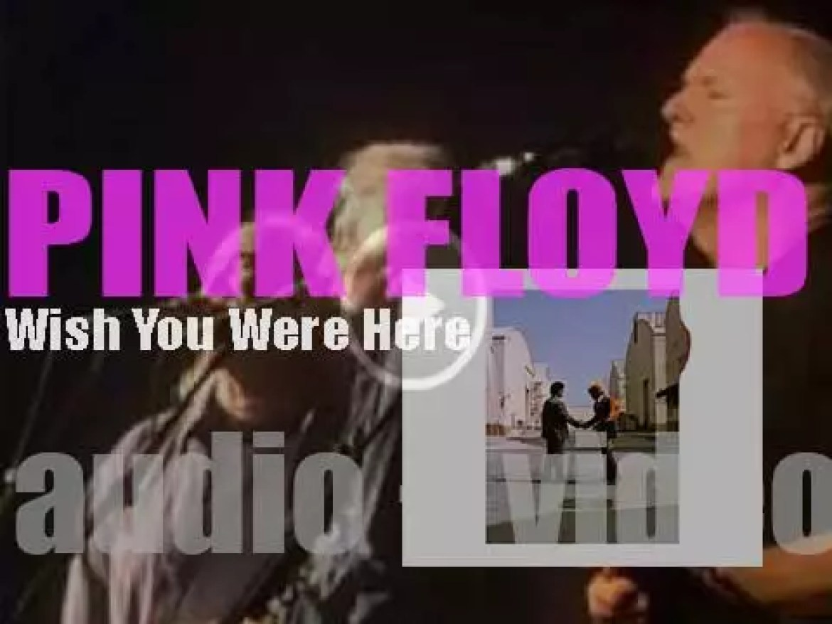 Pink Floyd release their ninth album 'Wish You Were Here' featuring 'Shine On You Crazy Diamond' (1975)