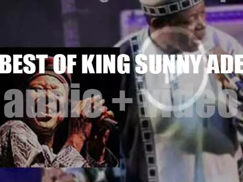 Happy Birthday King Sunny Adé. 'Long Live the King'