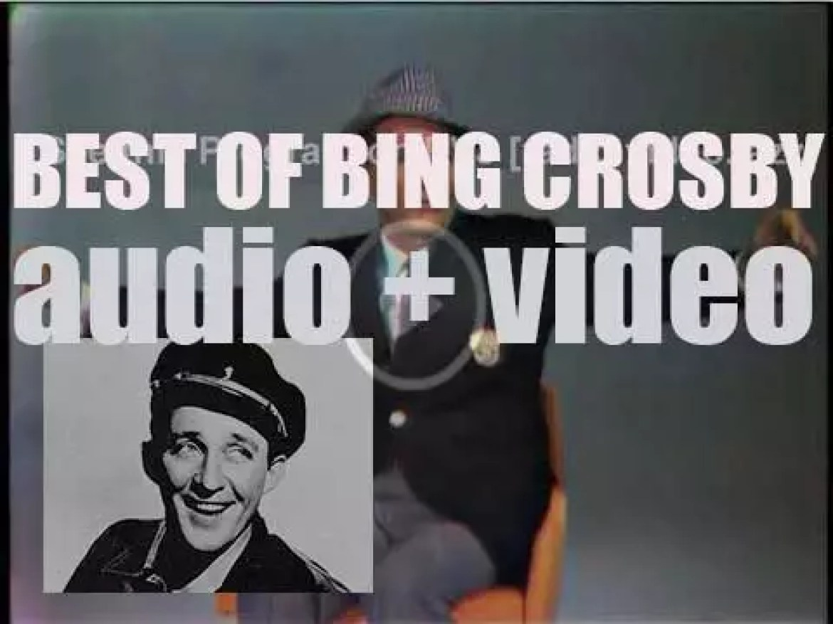 We remember Bing Crosby. 'Crosby Still Young'