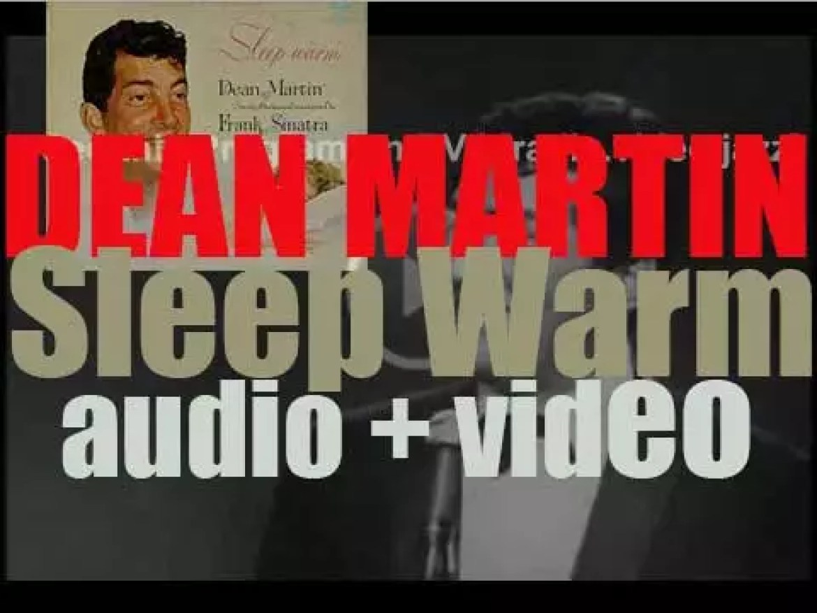 Dean Martin records 'Sleep Warm' with an orchestra conducted by Frank Sinatra (1958)