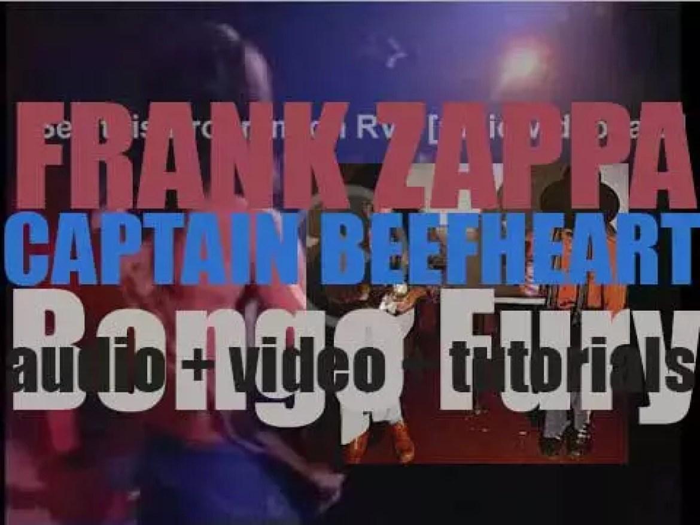 Discreet publish 'Bongo Fury'  by Frank Zappa and Captain Beefheart (1975)