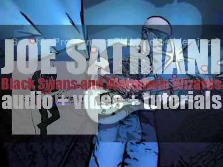Joe Satriani releases his thirteenth album : 'Black Swans and Wormhole Wizards' (2010)